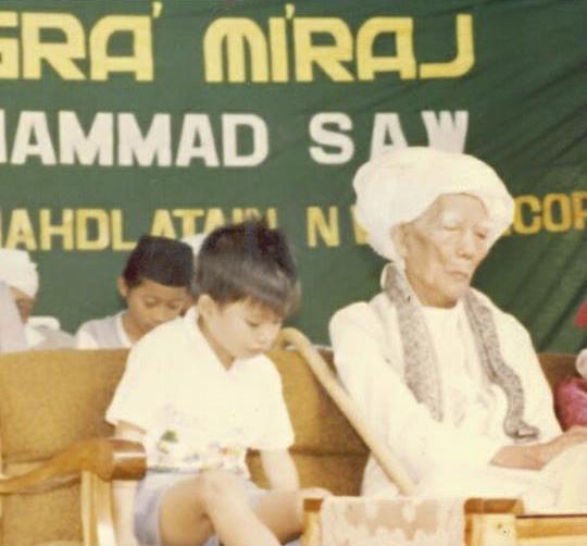 Raden Tuan Guru Bajang Bersama Maulana Syaikh